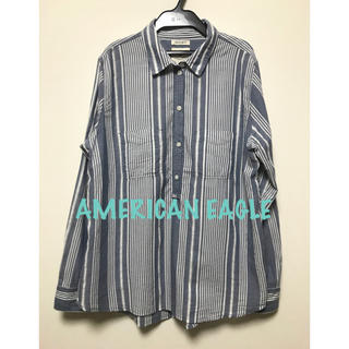 American Eagle - AMERICAN EAGLE OUTFITTERS シャツプルオーバー