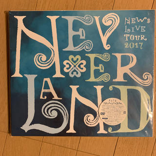 NEWS - NEWS 2017 NEVERLAND 初回盤DVD