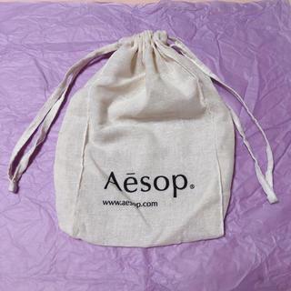 イソップ(Aesop)のAesop 巾着 ショップ袋(ポーチ)