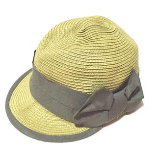 カシラ(CA4LA)のLip jewel キャップ キャスケット ストローハット 麦わら帽子 (麦わら帽子/ストローハット)