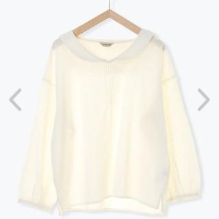 SM2 - サマンサモスモス 刺繍セーラー衿ブラウス