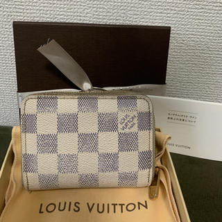 LOUIS VUITTON - ルイヴィトン◆ ジッピー コインパース ◆ダミエ アズール