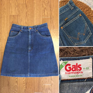 DEUXIEME CLASSE - 希少 80'sWrangler Gals Vintage デニムスカート
