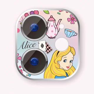 ディズニー(Disney)のアリス iphone11  レンズ保護フィルム ディズニー(保護フィルム)