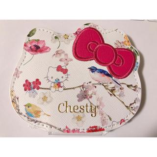 チェスティ(Chesty)の美人百花 Chesty×Hello Kitty 拡大鏡付き両面コンパクトミラー (ミラー)