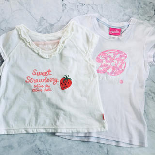 Barbie - OLIVEdesOLIVE / Barbie  Tシャツ 120cm〜130cm