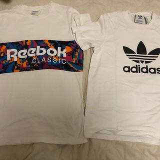 アディダス(adidas)のTシャツ(アディダス、リーボック)(Tシャツ/カットソー(半袖/袖なし))