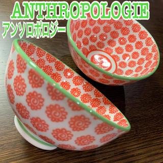 アンソロポロジー(Anthropologie)のアンソロポロジー ライスボウル / 飯茶碗 2点セット(食器)