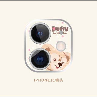 Disney - ダッフィー  iphone11  レンズ保護フィルム ディズニー