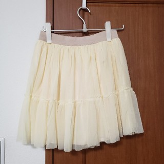 JILLSTUART - JILLSTUART ジルスチュアート チュールスカート スカート