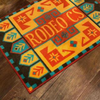 ロデオクラウンズ(RODEO CROWNS)の【非売品】ロデオクラウンズ★マット★未使用★ノベルティ★ルームマット(その他)