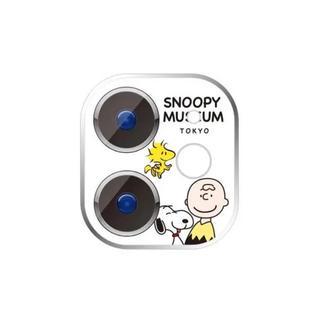 SNOOPY - スヌーピー  iphone11  レンズ保護フィルム