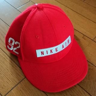 ナイキ(NIKE)のNIKE AIR キャップ 赤 送料無料(キャップ)