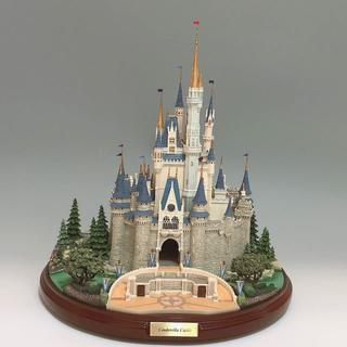 Disney - 激レア シンデレラ城のミニチュアフィギュア