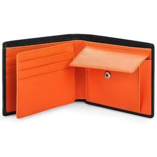 二つ折り 財布 本革財布 メンズ レザー カード10枚収納 (折り財布)