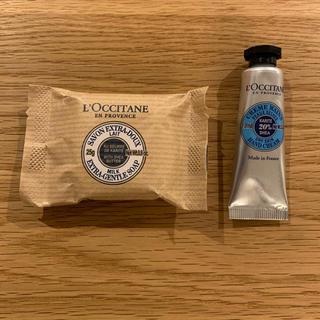 ロクシタン(L'OCCITANE)の【新品】ロクシタン ハンドクリーム 石鹸(ハンドクリーム)