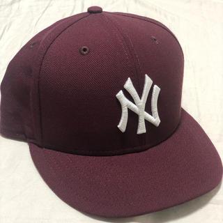 ニューエラー(NEW ERA)のNEW ERA NEWYORK YANKEES GRAY BRIM 7 3/8(キャップ)