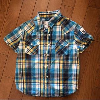 ikka - 半袖シャツ 半袖チェックシャツ