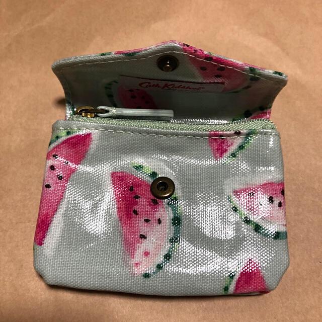 Cath Kidston(キャスキッドソン)のカードケース付きコインケースとストラップ レディースのファッション小物(コインケース)の商品写真