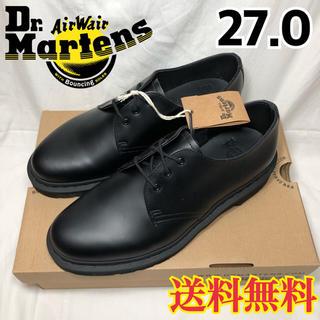 ドクターマーチン(Dr.Martens)の新品◉ドクターマーチン MONO ブラック 1461 3ホールギブソン 27.0(ドレス/ビジネス)