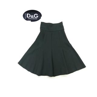 ドルチェアンドガッバーナ(DOLCE&GABBANA)のD&G DOLCE&GABBANA ハイウエストフレアスカート(ひざ丈スカート)
