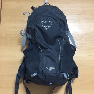 オスプレイ(Osprey)のosprey hikelite18 オスプレー ハイクライト(登山用品)