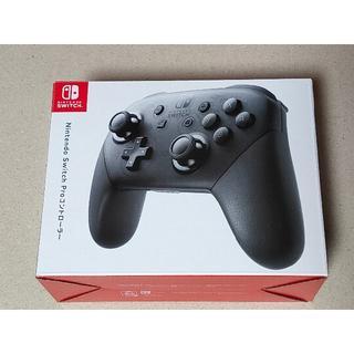 新品未開封 純正 Nintendo Switch Proコントローラー(その他)
