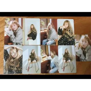 Taeyeon fanmeeting Inside TAEYEON カード(アイドルグッズ)