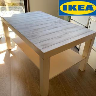 イケア(IKEA)の【購入前に必ずコメント下さい】IKEAテーブル ジャンク品(ローテーブル)