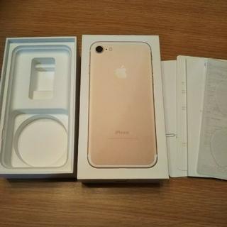 アップル(Apple)のiPhone7の箱(iPhoneケース)