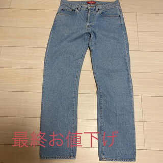 Supreme - supreme regular denim デニム 30