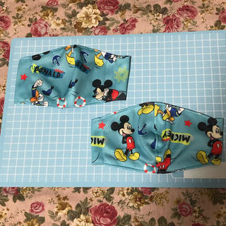 ディズニー(Disney)の冷感インナーマスク子供用2個セット(その他)