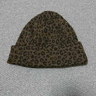 レイジブルー(RAGEBLUE)のレイジブルー/RAGE BLUE レオパードニット帽(ニット帽/ビーニー)