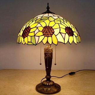新品花模様スヨーロッパのレトロなロマンチックなテーブルランプ ティファニー(フロアスタンド)