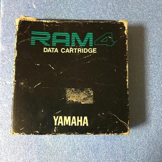 YAMAHA DX7-2FD用 カードリッジ 希少品 ヤマハ シンセ データロム(キーボード/シンセサイザー)