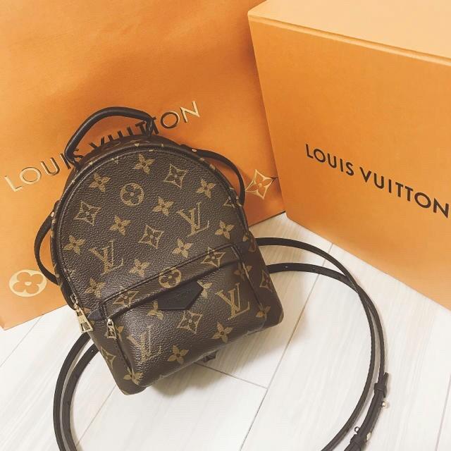 LOUIS VUITTON(ルイヴィトン)のルイヴィトン パームスプリングス バックパック MINI レディースのバッグ(リュック/バックパック)の商品写真