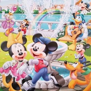 ディズニー(Disney)の【新品未使用】ディズニー♡2020壁掛けカレンダー♩ディズニーキャラクター大集合(キャラクターグッズ)