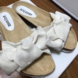 merlot - merlot リボンサンダル