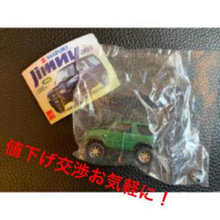●ガチャガチャ スズキジムニー JB23 (カスタム仕様) グリーン ビーム(ミニカー)