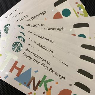 スターバックスコーヒー(Starbucks Coffee)のスターバックスドリンクチケット40(フード/ドリンク券)