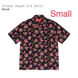 Supreme - Supreme Floral Rayon S/S Shirt Small