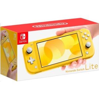 ニンテンドースイッチ(Nintendo Switch)のNintendo Switch lite イエロー 新品未使用 スイッチ ライト(家庭用ゲーム機本体)