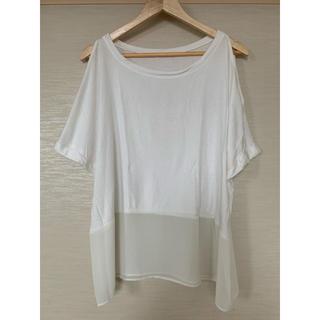 ローズバッド(ROSE BUD)のROSE BUDローズバッド Tシャツ オープンショルダー(Tシャツ(半袖/袖なし))