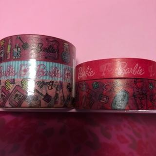 バービー(Barbie)のBarbieマスキングテープ5個セット(テープ/マスキングテープ)