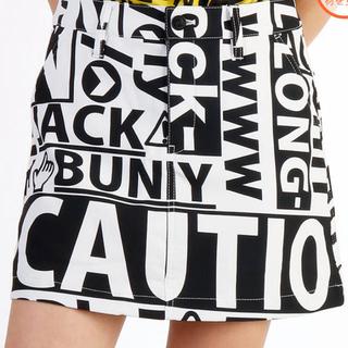【新品・未使用】ジャックバニー スカート  インナー付き ロゴ