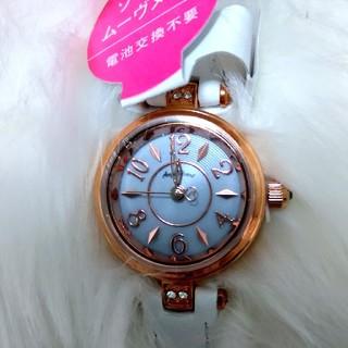 エンジェルハート(Angel Heart)の【新品未使用、保証書付き】AngelHeart スワロフスキー付き防水腕時計(腕時計)