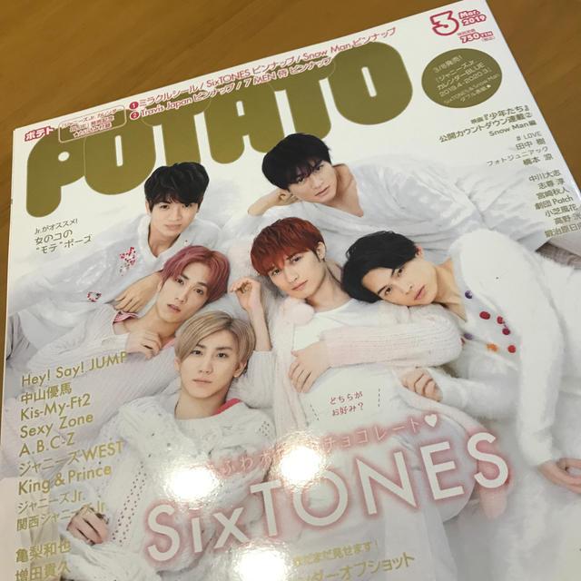POTATO (ポテト) 2019年 03月号 エンタメ/ホビーの雑誌(その他)の商品写真