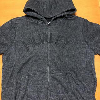 Hurley - ハーレー スウェット パーカー フーディ フロントビッグポケット デカロゴ L