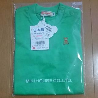 mikihouse - 【新品・未使用タグ付き】ミキハウス 半袖Tシャツ
