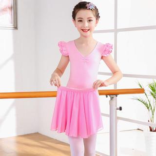 チャコット(CHACOTT)の【120】キッズ バレエレオタード スカート付き ピンク (ダンス/バレエ)